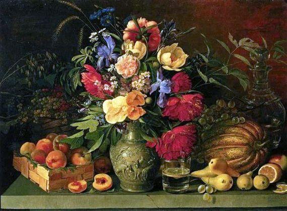 Сочинение по картине И. Т. Хруцкого «Цветы и плоды»