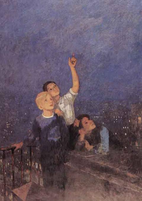 Сочинение по картине Ф. П. Решетникова «Мальчишки»