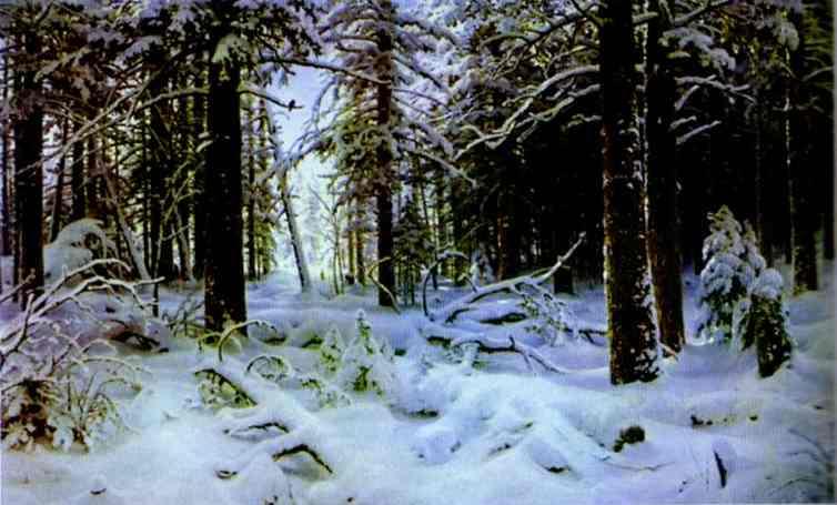 Сочинение по картине Шишкина «Зима»